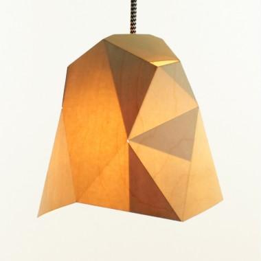 Lalupo Kink Wood - Hängeleuchte aus Holz