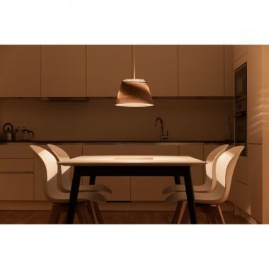 Cardboard lampshade, n1, type A - Stehlampe