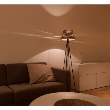 Cardboard lampshade, n1, type B - Stehlampe
