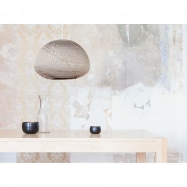 Cardboard lampshade, n3, type A - Hängelampe