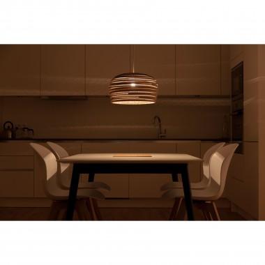 Cardboard lampshade, n8 - Stehlampe