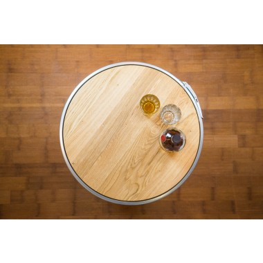 Lockengelöt Fass Möbel Zubehör: Eichenholz Tischplatte