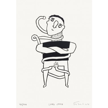 Long John | Linolschnitt