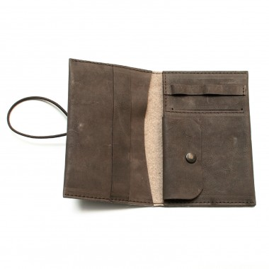 Love Leather Smoking Pouch - Leder Tabaktasche (darkbrown)