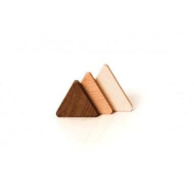 Magnetholz dreieckig Größe 'L' extrastark - von LUMENQI