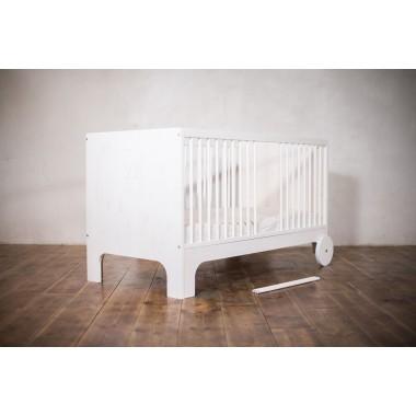 ekomia babybett lumy wei. Black Bedroom Furniture Sets. Home Design Ideas