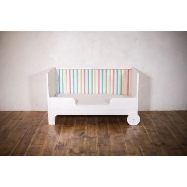 Baby- und Kinderbett Lumy zum Mitwachsen