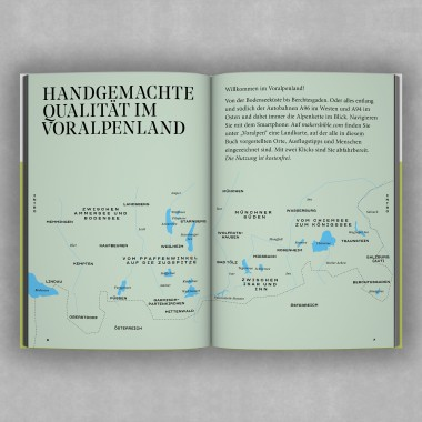 """Makers Bible """"Voralpen"""" – Handgemachte Qualität"""