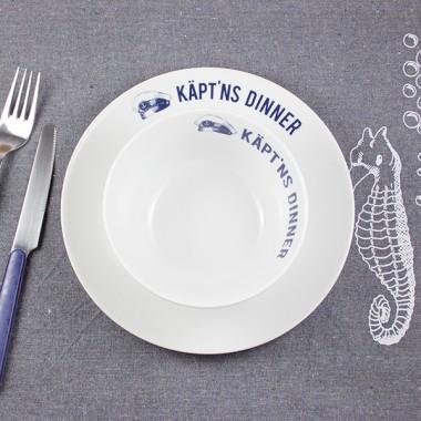 Bow & Hummingbird Porzellanteller Käpt´ns Dinner