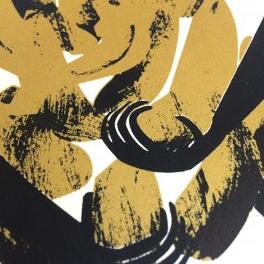 Print now - Riot later Midcentury Ape Siebdruck