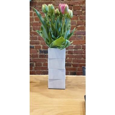 betonIDEE | Beton-Vase gestapelt