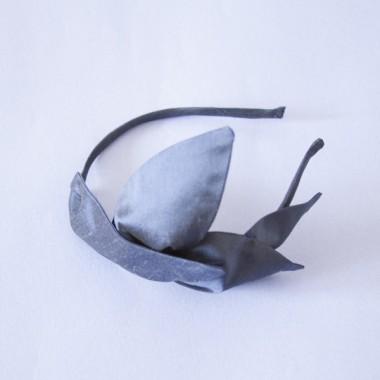 Irmeline Accessoires Manufaktur Haarreif »La Moulière blau«