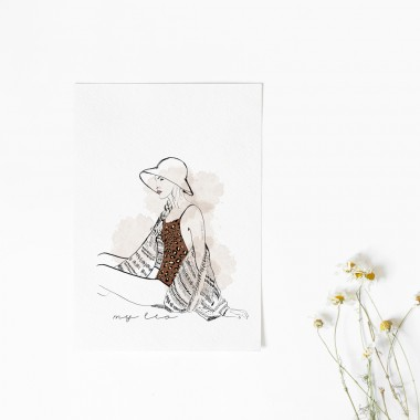 "nahys_illustration ""my leo"""