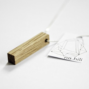 na.hili KETTE minimal wood Schmuck