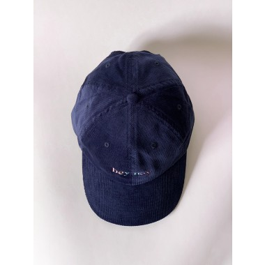 hey hey Rainbow cap - navy (Stick vorne)
