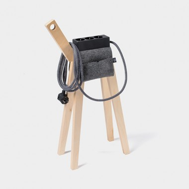 Njustudio Stromer – Mobile Steckerleiste (Black Black)