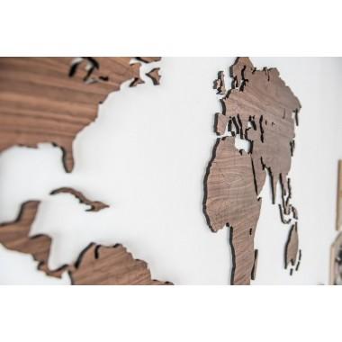 Ulf Seydell - TERRA CASA -Weltkarte aus Holz
