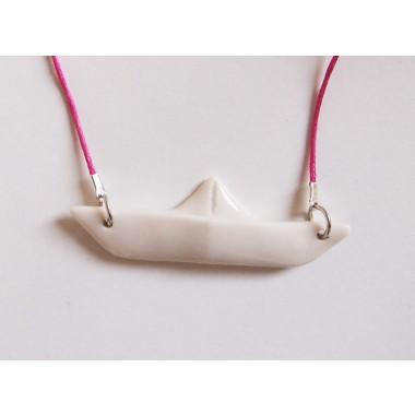 moij design Origami Schiffchenkette