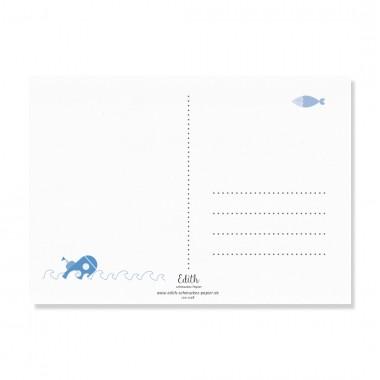 "Edith schmuckes Papier ""Nice to meet you - Postkarte Set"" mit 2 Postkarten"