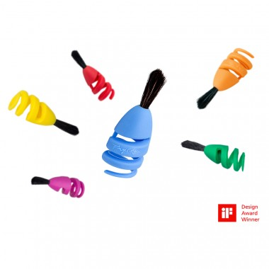 FINGERMAX - Fingerpinsel Eltern Set (6 St. Fingermax Pinsel)