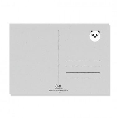 "Edith schmuckes Papier ""Back an White - Postkarte Set"" mit 2 Postkarten"