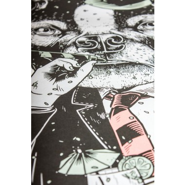 Poster »Partyanimal«, 50x70cm