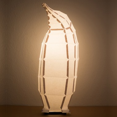 Penguin - Do It Yourself Papierlampenschirm