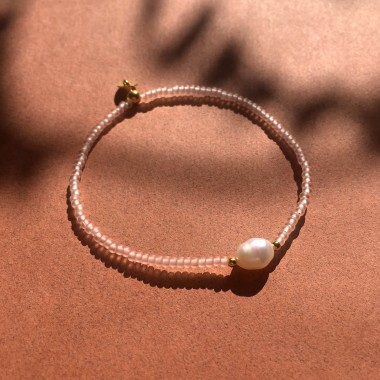 """petite perle"" Armband"