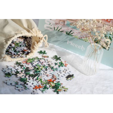 Piecely Peaceful Morocco Puzzle, 1000 Teile
