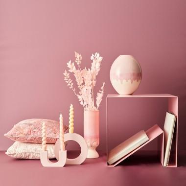 mused - CURVE U - light pink