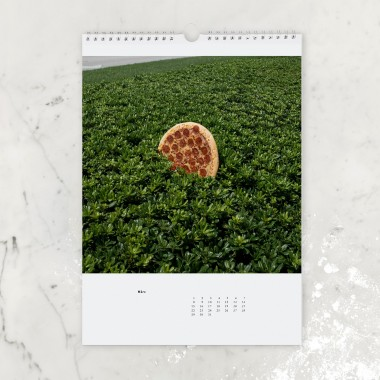 """edition ij """"Pizza in the Wild"""" Kalender 2021"""
