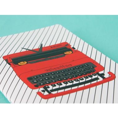 / Notizheft - A5 - Olivetti Valentine