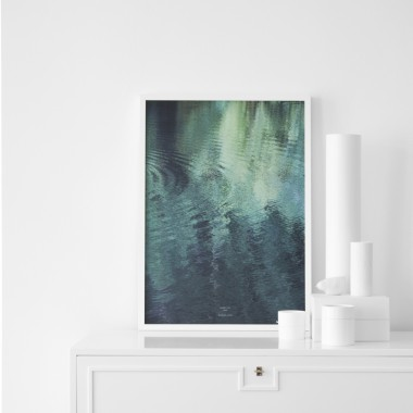 forest in the LAKE - A1 Artprint - Poster