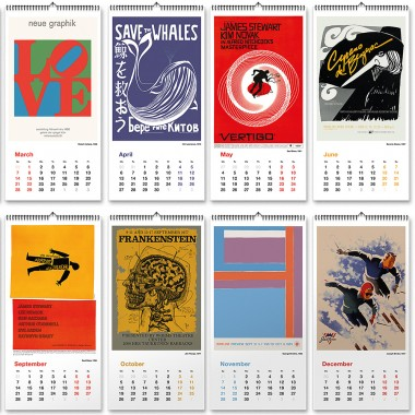 INTERNATIONAL POSTERDESIGN 1947-1987 Kalender 2020 – DAC.design