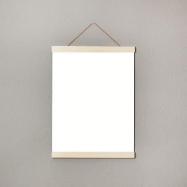 punktkommastrich - Posterleiste / Bilderleiste / magnetische Bilderleiste / Aufhängung für Poster 30cm (30x40cm)
