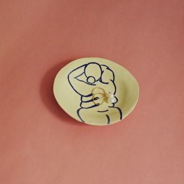 Power Pottery – Schmuckteller Ilva