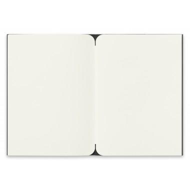 reinheft Notizheft Edition Mondphasen blanko