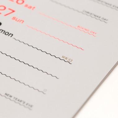 twothousand&twenty – rikiki Wandkalender 2020 in english
