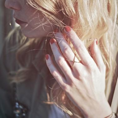 iloveblossom CROSSING OVER RING // rosé