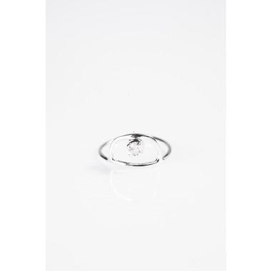 iloveblossom ICE DROP RING // silber