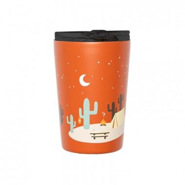 Isolierter Edelstahl Kaffee Becher - Explore more von Roadtyping
