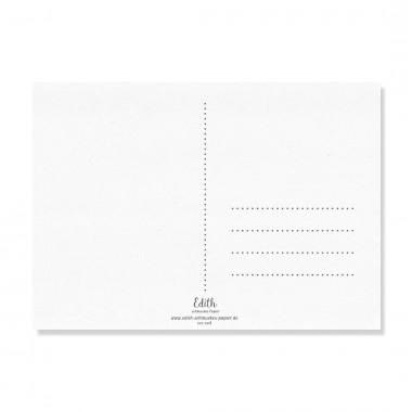 "Edith schmuckes Papier ""Rudi - Postkarten Set"" 2 Postkarten"