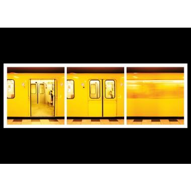 """TRILOGRAFIE Magnet Schlüsselbrett """"Berlin Underground"""" (Berliner U-Bahn)"""