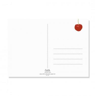 "Edith schmuckes Papier ""Mama und Papa Postkarte - Set""  2 Postkarten"