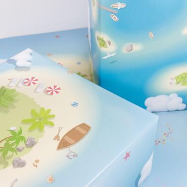 """Bow & Hummingbird Geschenkpapier """"Sea Life"""""""