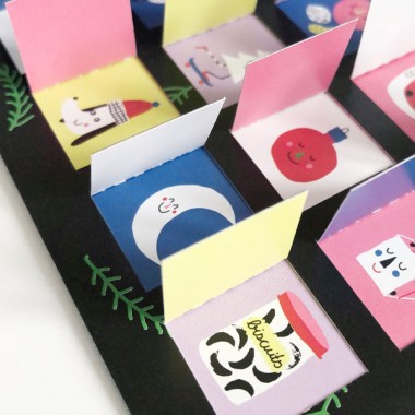 UNTER PINIEN – Mini Türchen Kalender