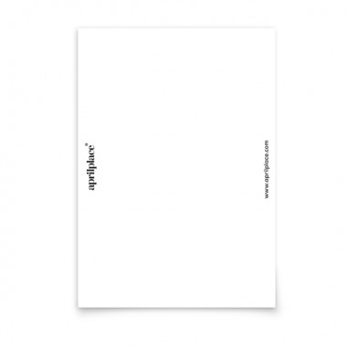 aprilplace // Diet // Postkarte Din A6
