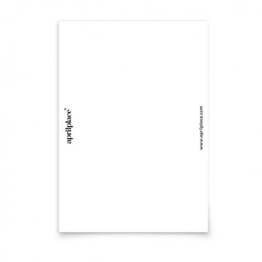aprilplace // Birthdaylicious // Postkarte Din A6