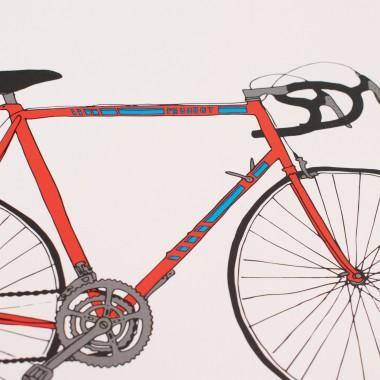 polypodium / Rennrad / Fahrrad Print