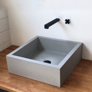 Beton-Waschbecken Serie X47 von Grellroth-Design